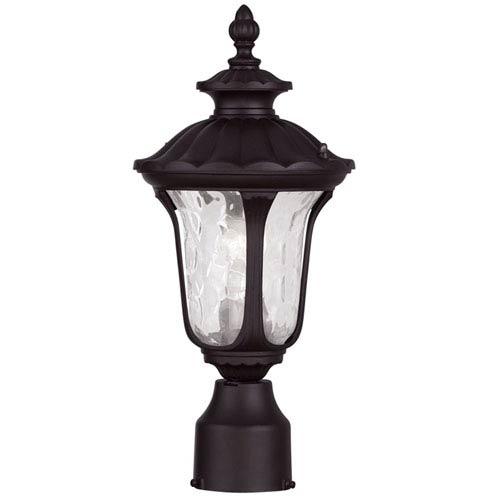 Livex Lighting Oxford Bronze 15.5-Inch One Light Outdoor Post Head