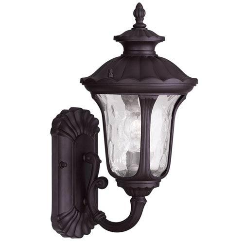 Livex Lighting Oxford Bronze 15.5-Inch One Light Outdoor Wall Lantern