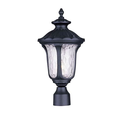 Livex Lighting Oxford Black One Light 19-Inch Outdoor Post Head