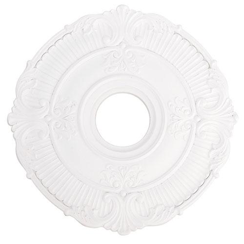 Buckingham White 18-Inch Ceiling Medallion