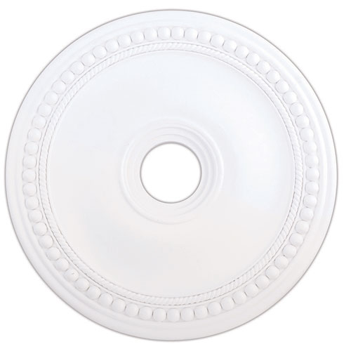 Wingate White 24-Inch Ceiling Medallion