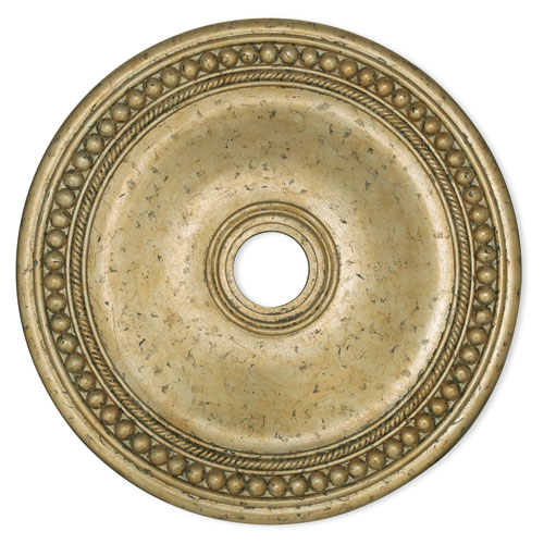 Wingate Hand Applied Winter Gold 30-Inch Ceiling Medallion