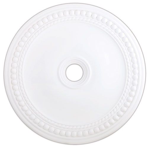 Wingate White 36-Inch Ceiling Medallion