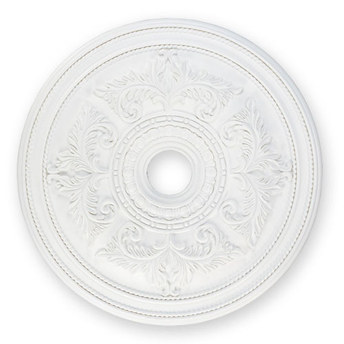 Large White Ceiling Medallion