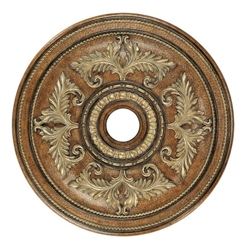 Large Venetian Patina Ceiling Medallion