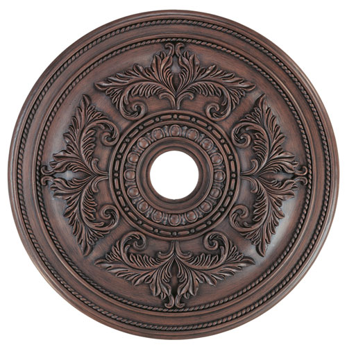 Large Imperial Bronze Ceiling Medallion