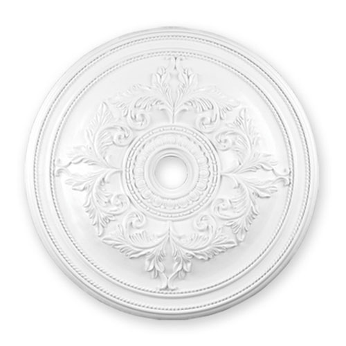 White Ceiling Medallion