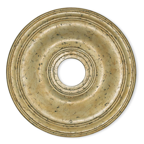 Wingate Hand Applied Winter Gold 20-Inch Ceiling Medallion