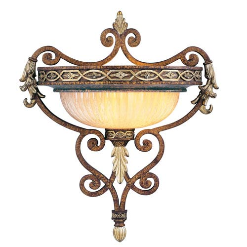 Seville Palacial Bronze One-Light Wall Sconce
