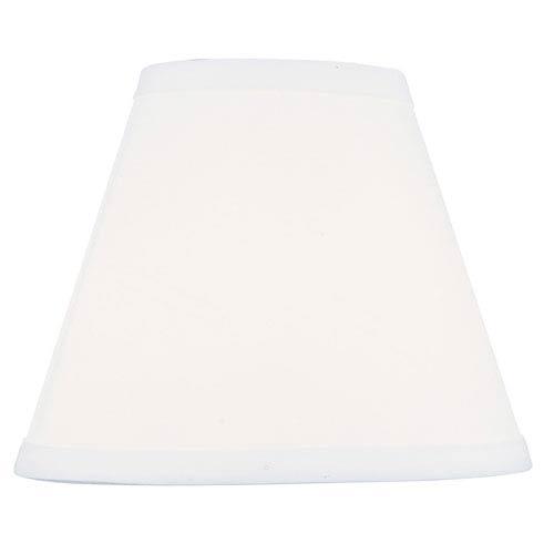 White 4-Inch Hardback Empire Shade