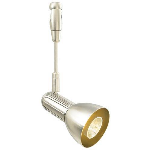 LBL Lighting Swing Satin Nickel 3-Inch LED Spotlight with Satin Nickel Shade