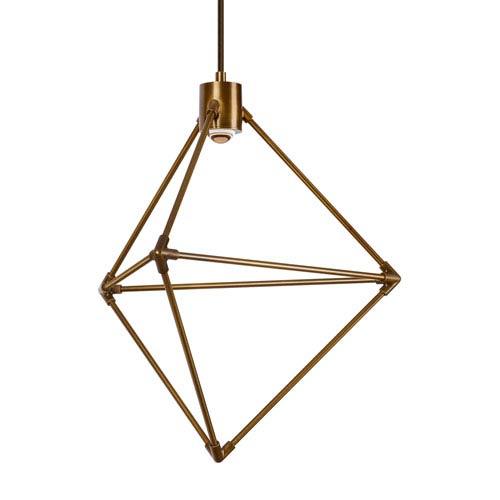 Tech Lighting Candora Aged Brass 19-Inch LED Chandelier