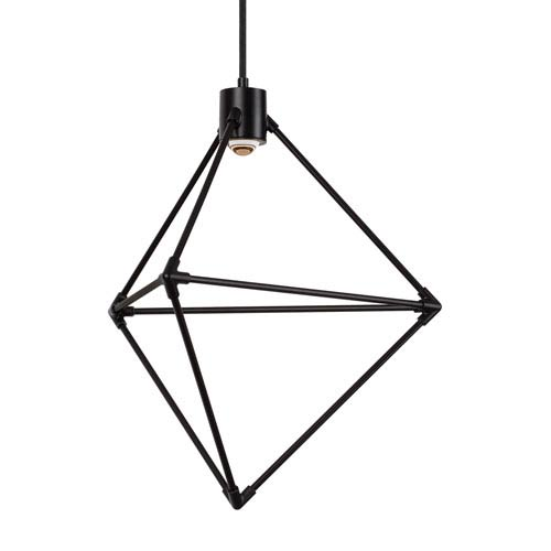 Tech Lighting Candora Black 19-Inch LED Chandelier