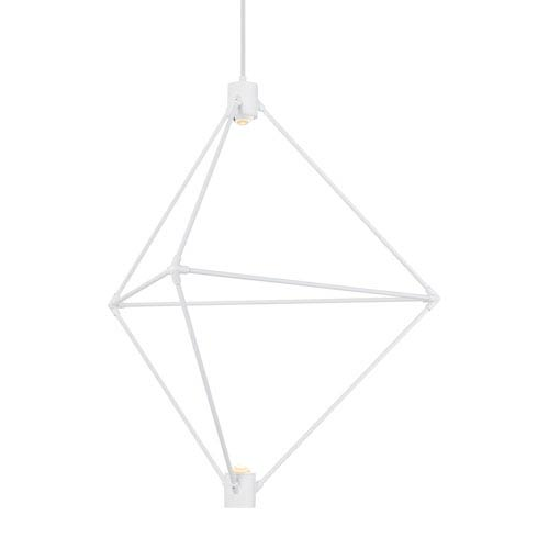 Candora White 29-Inch LED Chandelier