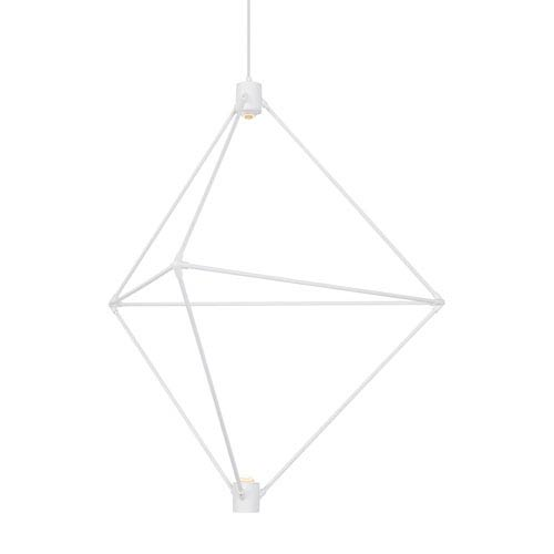 Candora White 34-Inch LED Chandelier