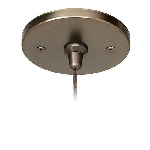 Fusion Jack Bronze 4-Inch Round Flush Canopy