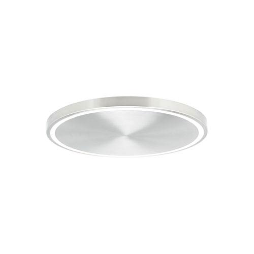 Crest Satin Nickel LED 20-Inch Flush Mount