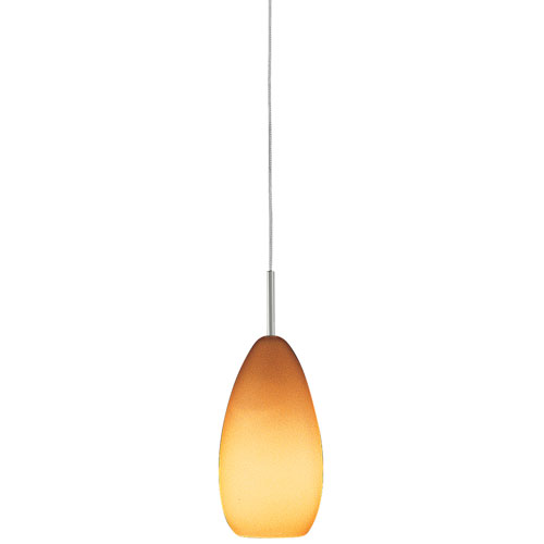 Tear-SII Coax Amber Monorail Pendant