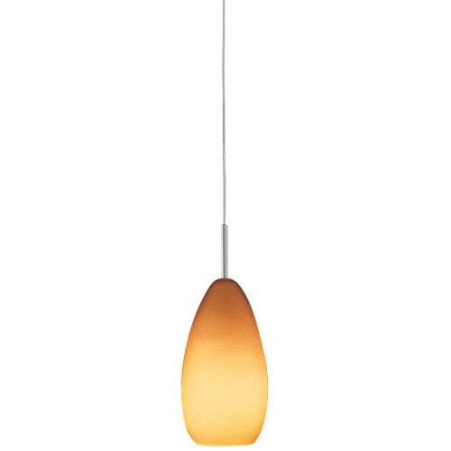 Tear-SII Coax Amber LED Monorail Pendant