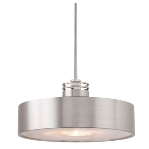 Hover Satin Nickel Mini Pendant