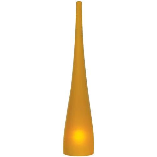 Cypree Amber 14-Inch Monorail Satin Nickel Pendant