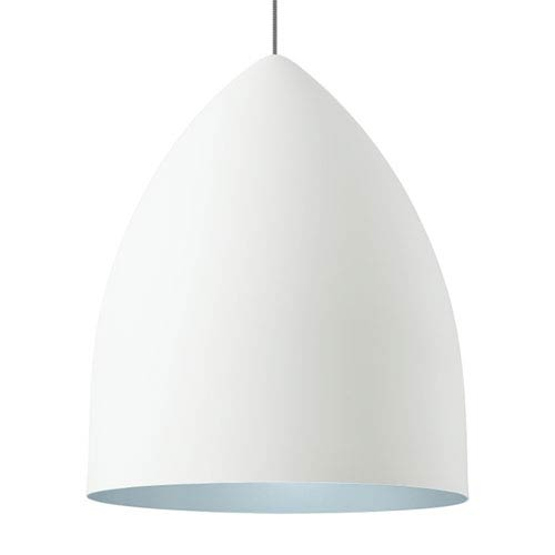 Lbl Lighting Signal Grande Rubberized White And Blue 277 Volt ...