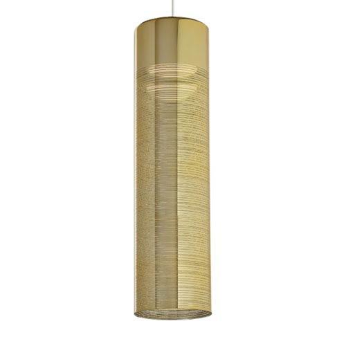 LBL Lighting Trista Grande Satin Nickel and Gold LED Chandelier
