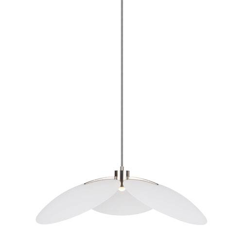 LBL Lighting Oma White 28-Inch LED Pendant