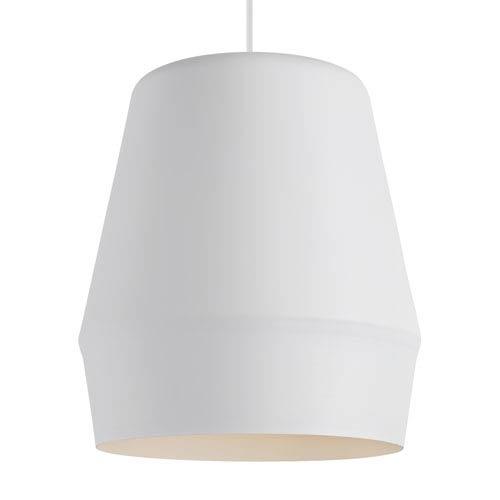 Allea White 13-Inch LED Pendant