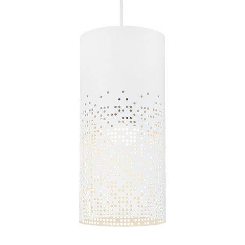 Tech Lighting Crossblend White One-Light 6-Inch Mini Pendant
