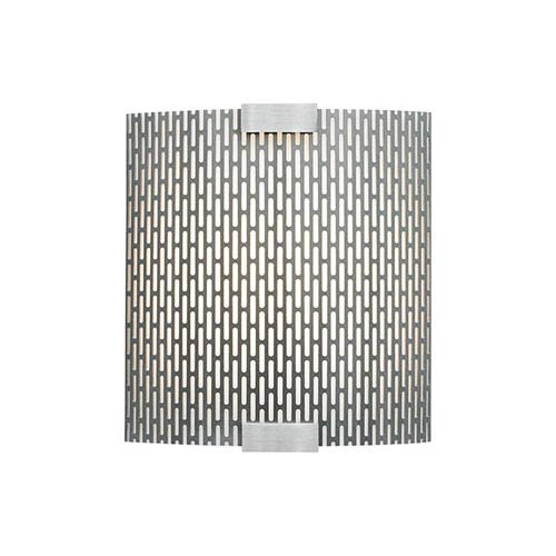 Omni Silver One-Light Four-Inch LED Wall Sconce Metal Shade