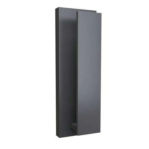 Nate Graphite 5-Inch LED Outdoor Wall Sconce