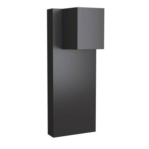 Quadrate Graphite 5-Inch LED Outdoor Wall Sconce