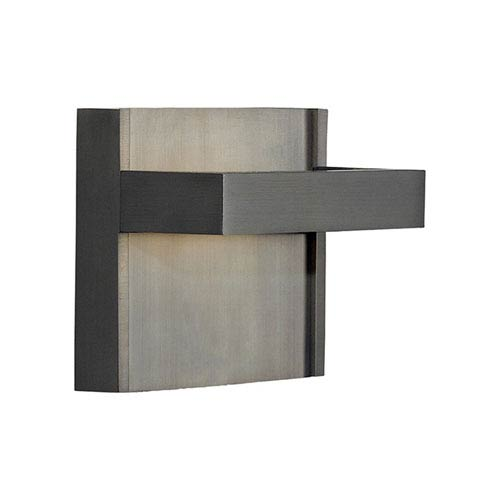 Ashland Bronze One-Light LED Wall Sconce with Metal Decorative Insert