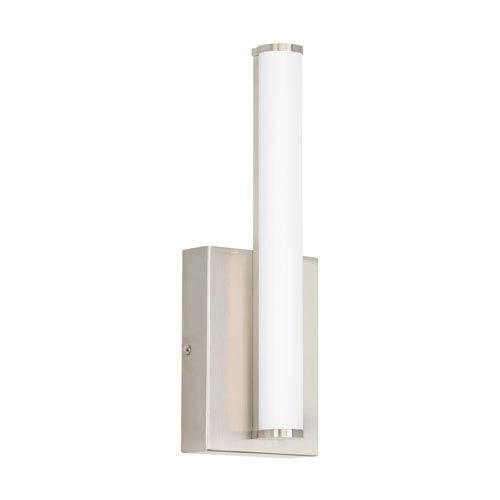 Tech Lighting Lufe Satin Nickel 5-Inch LED 3000K Round Wall Sconce