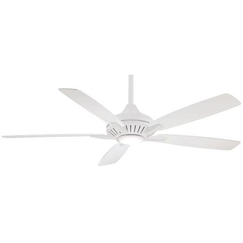 Dyno XL White 60-Inch Smart Ceiling Fan