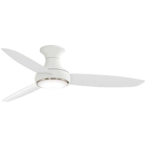 Concept III White 54-Inch LED Smart Ceiling Fan