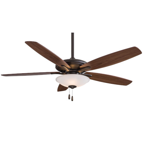 Mojo Oil Rubbed Bronze 52-Inch Three-Light LED Ceiling Fan