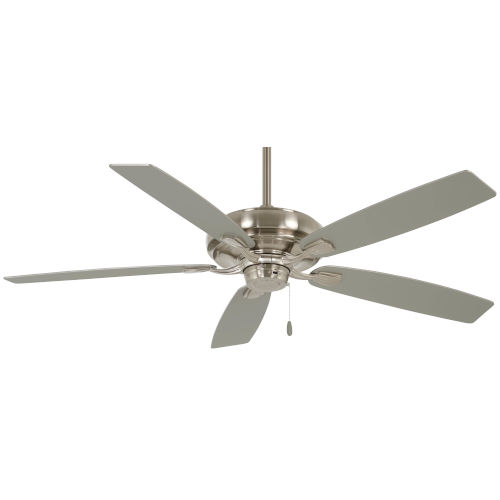 Watt Brushed Nickel 52-Inch Ceiling Fan