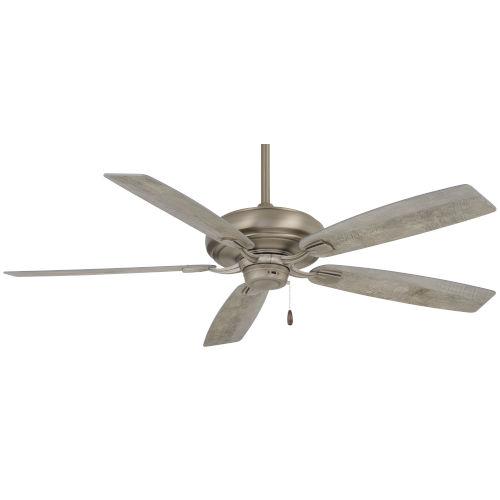 Watt Burnished Nickel 52-Inch Ceiling Fan