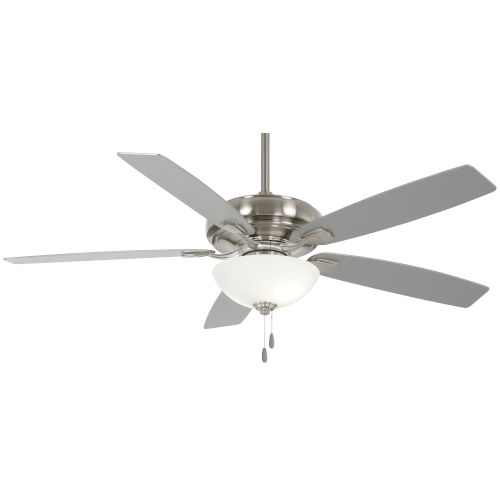 Watt II Brushed Nickel 60-Inch LED Ceiling Fan