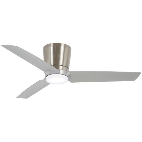 Pure with Silver LED Ceiling Fan