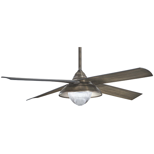 Minka Aire Shade Heirloom Bronze Led Ceiling Fan