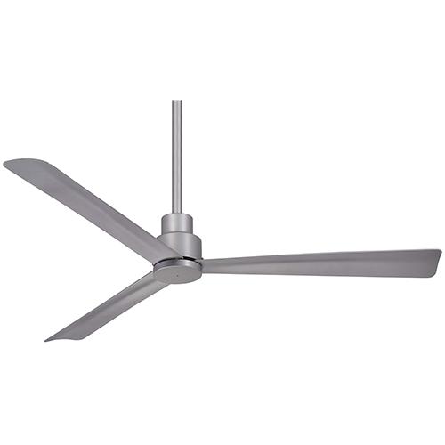 Simple Silver Ceiling Fan