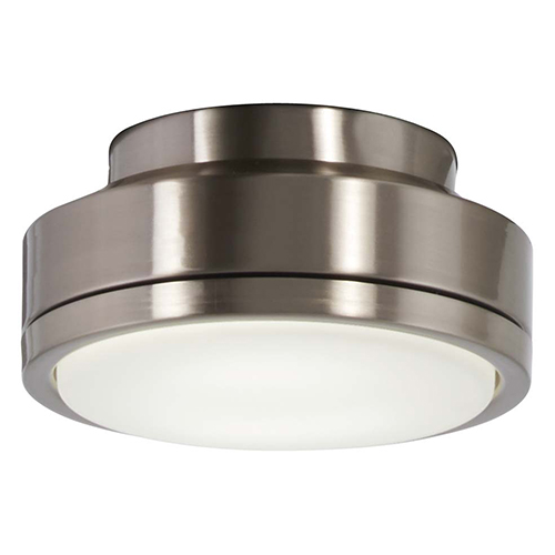 Brushed Nickel 12-Inch LED Light Kit