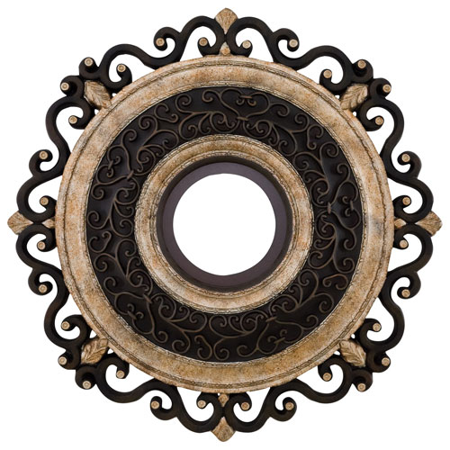 Napoli Sterling Walnut Ceiling Medallion