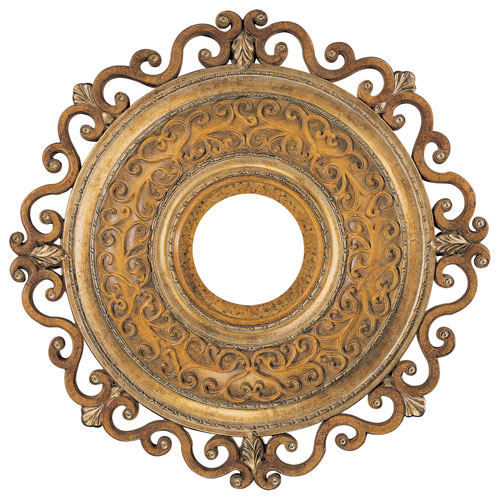 Minka Aire Tuscan Patina 22 Inch Ceiling Medallion
