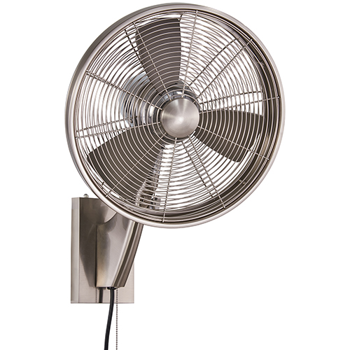 Anywhere Brushed Nickel 15-Inch Fan