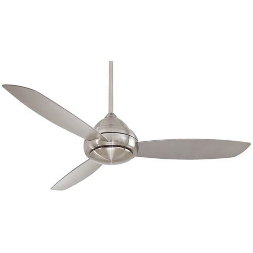 Concept I Brushed Nickel 58-Inch Outdoor LED Ceiling Fan