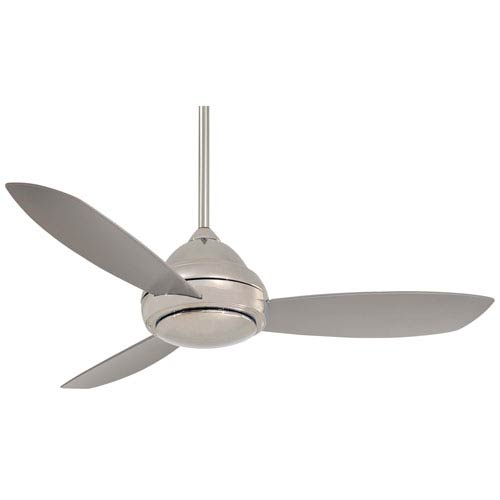 Concept I Polished Nickel 52-Inch LED Ceiling Fan